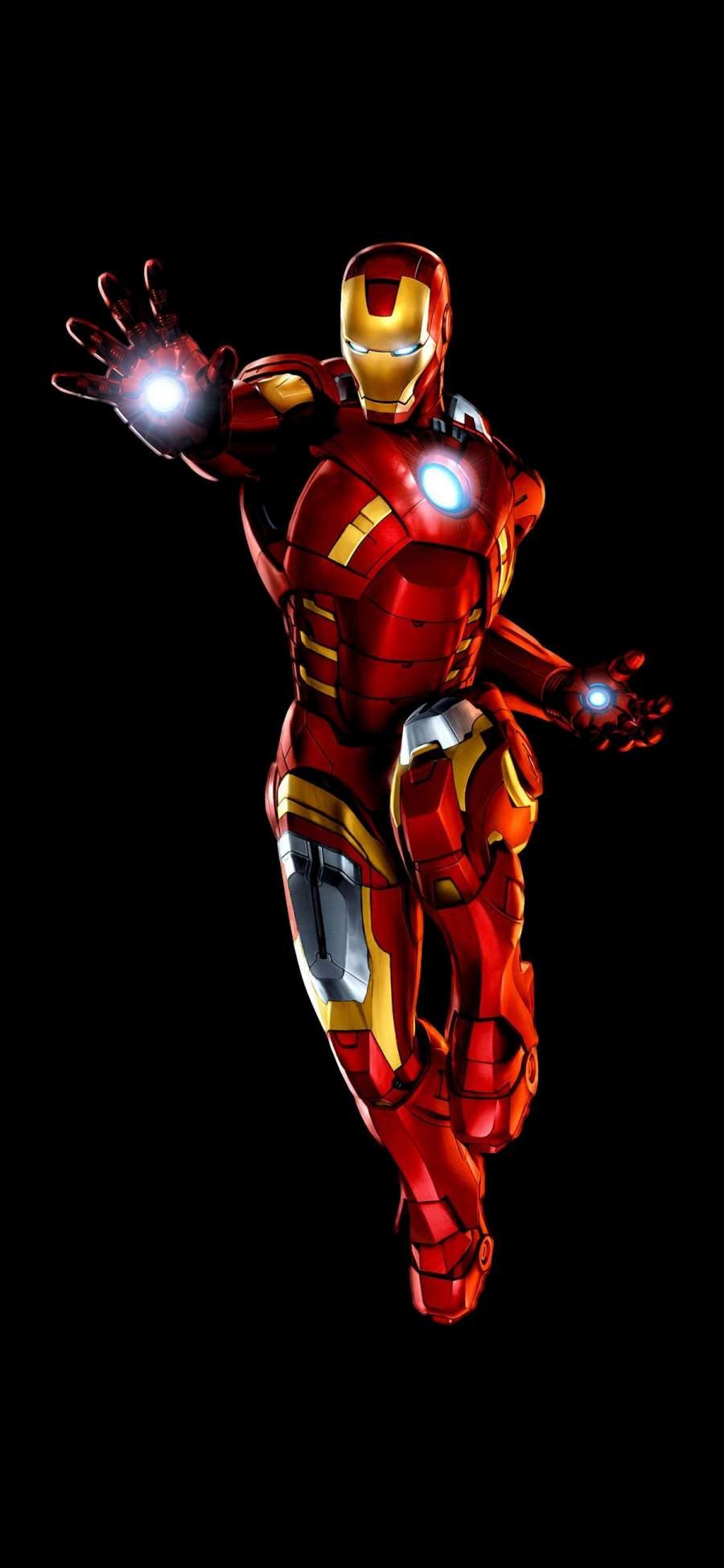 Iron Man Dark Background