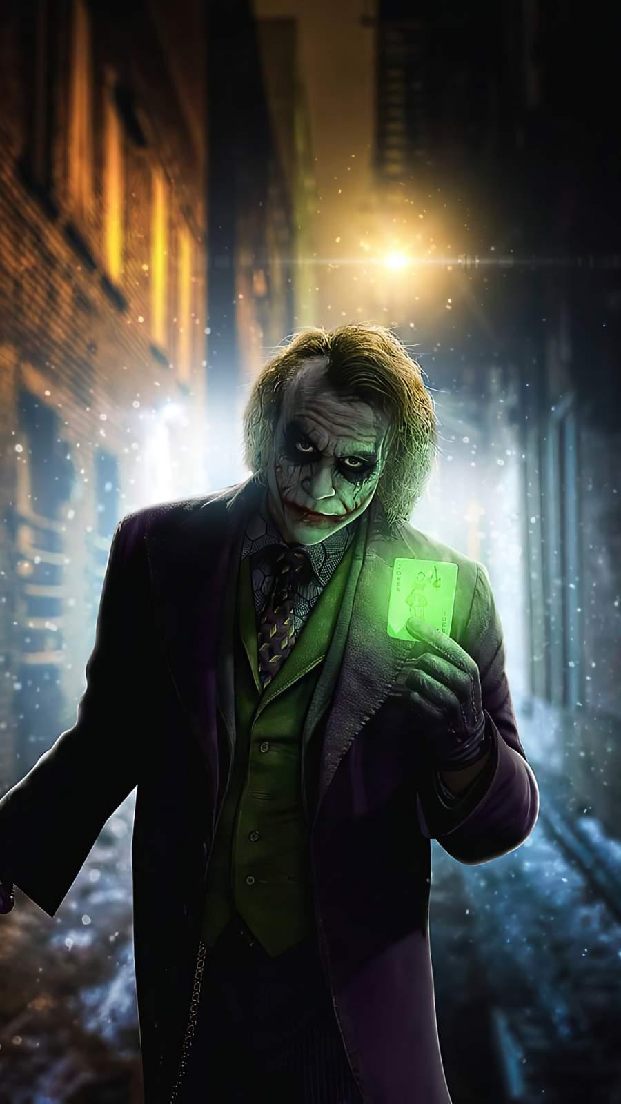 Joker Green Card