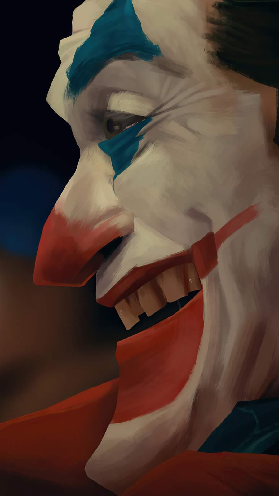 Joker Smile Closeup