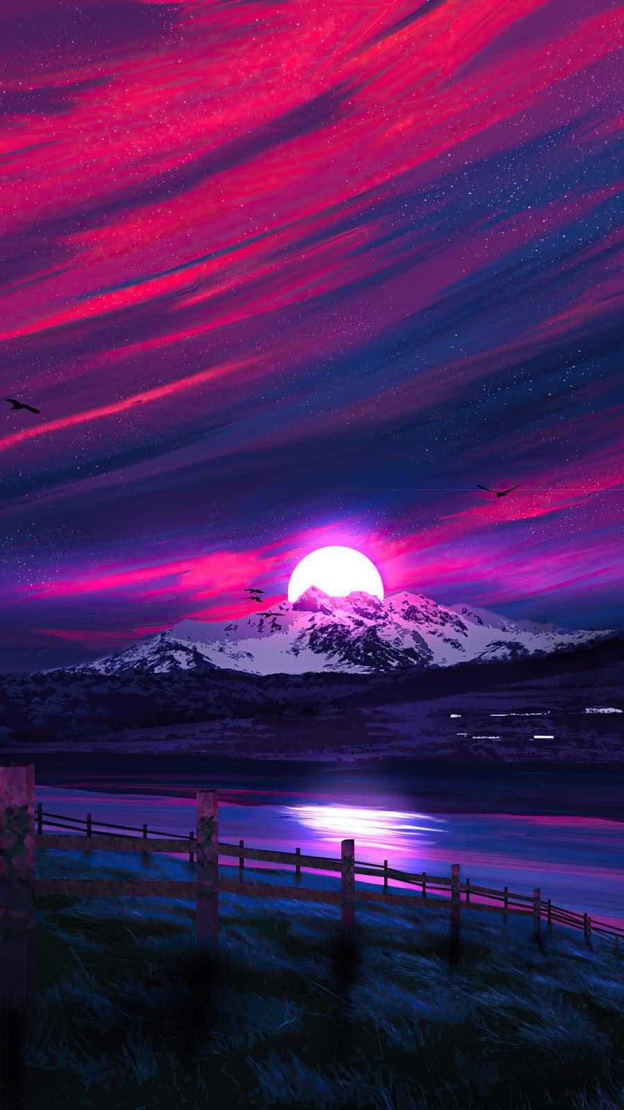 Landscape Sunrise 4K