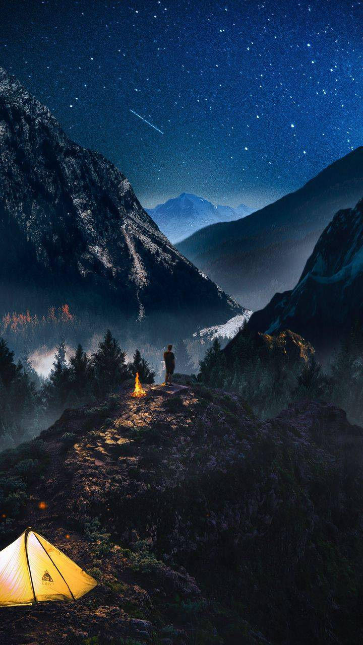 Night Camping in Nature