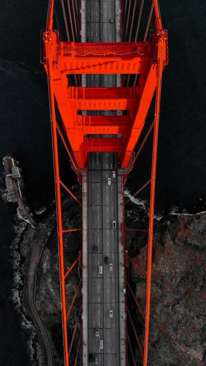 Red Bridge Aerial View
