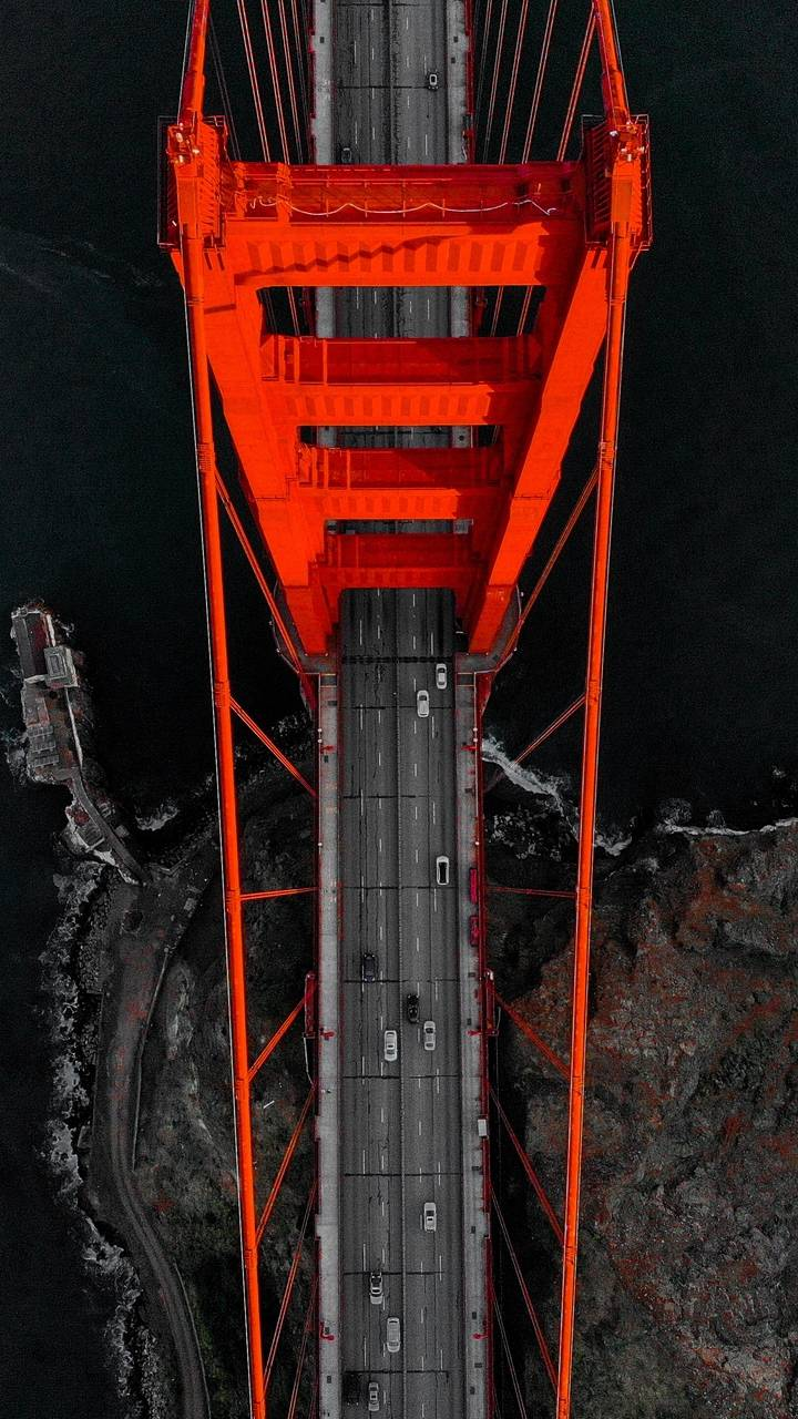 Red Bridge Aerial View