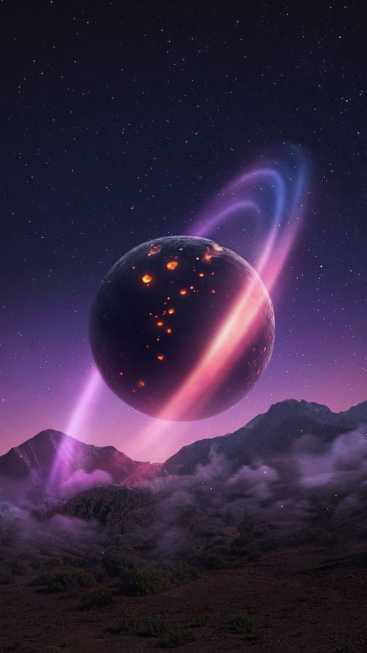 Space Planet Art Wallpaper