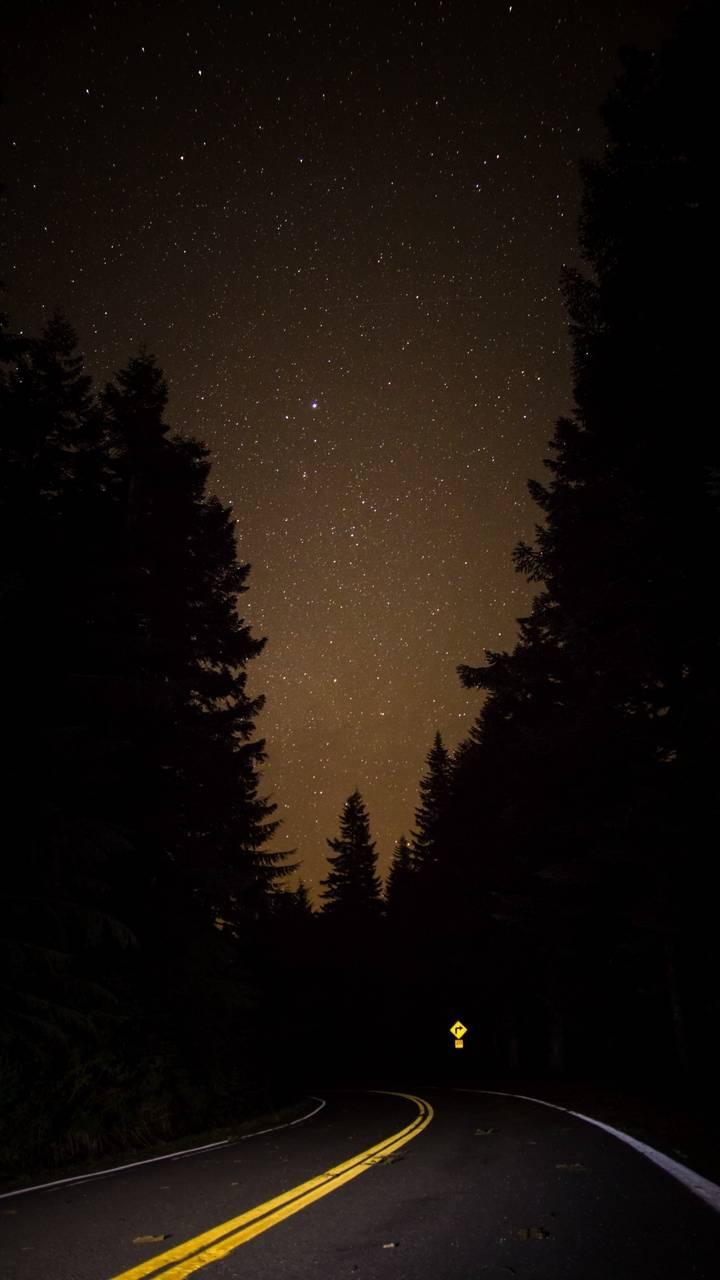 Starry Night Road