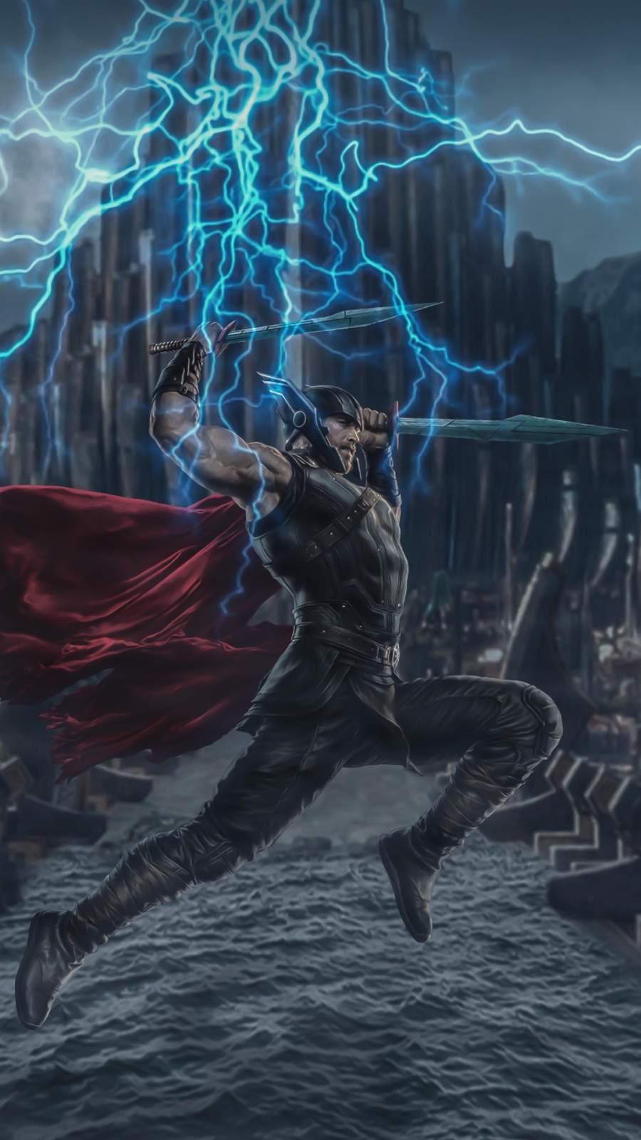 Thor 4K Wallpaper