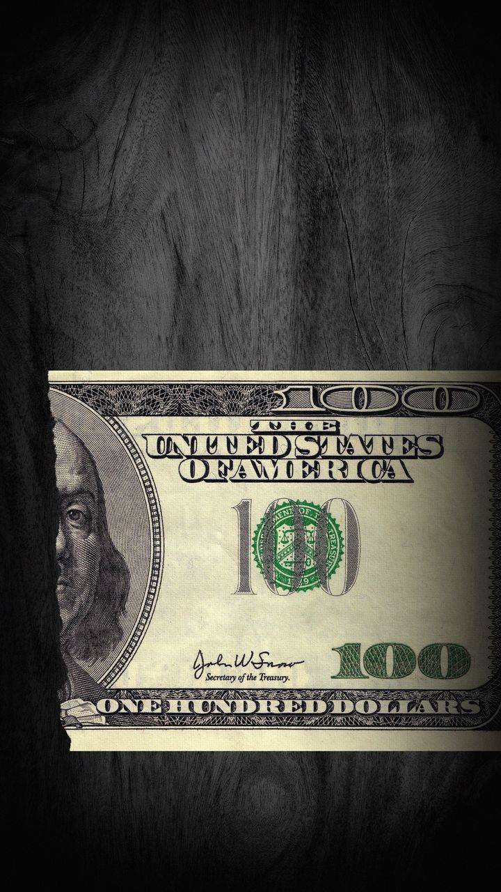 100 Dollar Bill iPhone Wallpaper