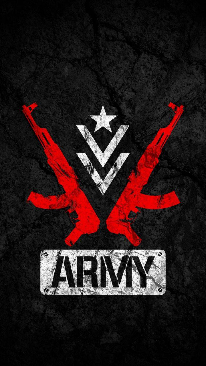 ARMY Logo iPhone Wallpaper