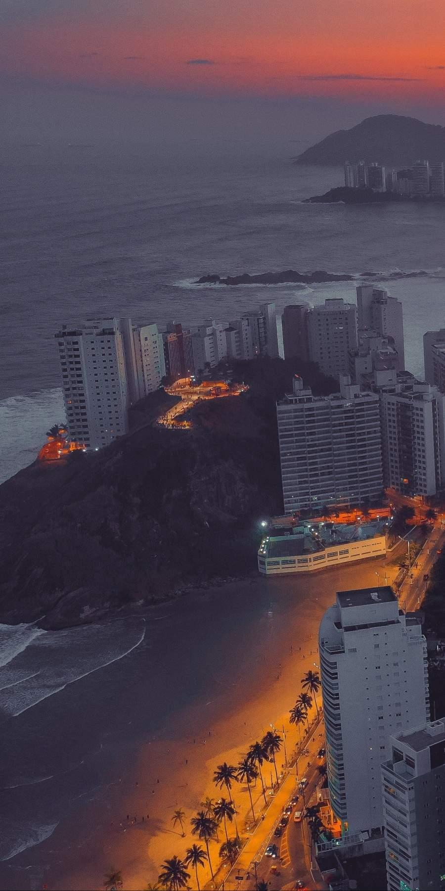 Beach City iPhone Wallpaper