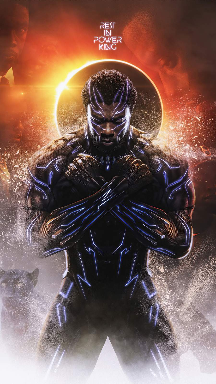 Black Panther Wakanda King iPhone Wallpaper