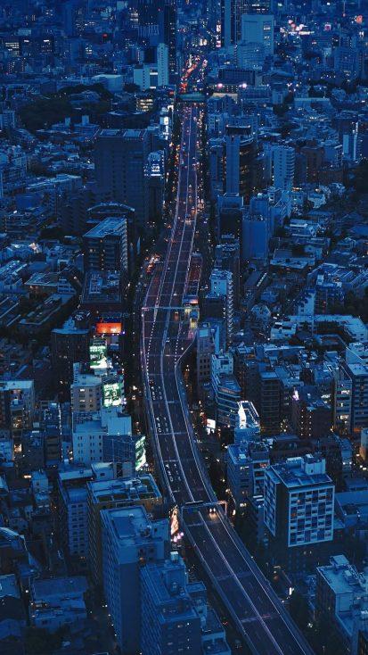 City Highway Tokyo Wallpaper