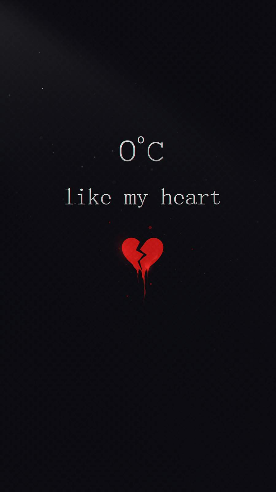 Cold Hearted iPhone Wallpaper