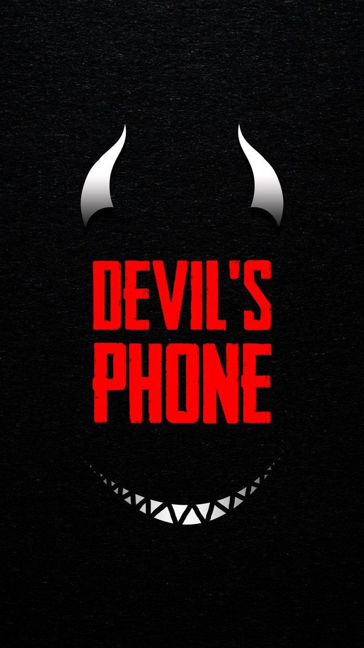 Devil Phone iPhone Wallpaper