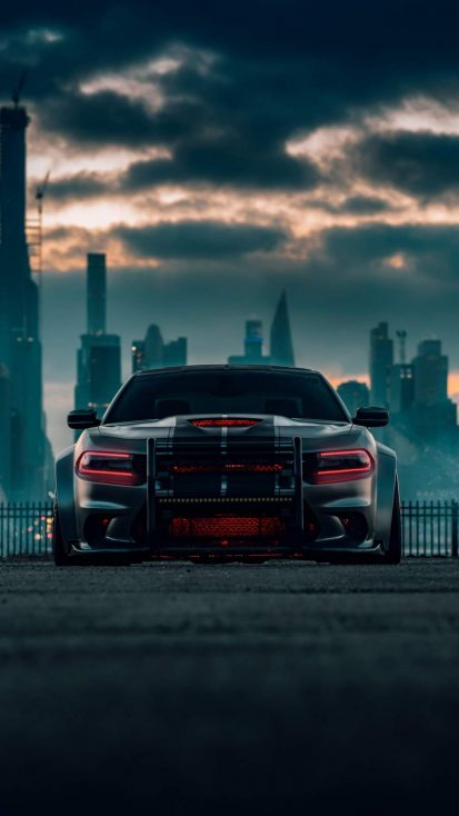 Dodge Charger Srt Hellcat iPhone Wallpaper