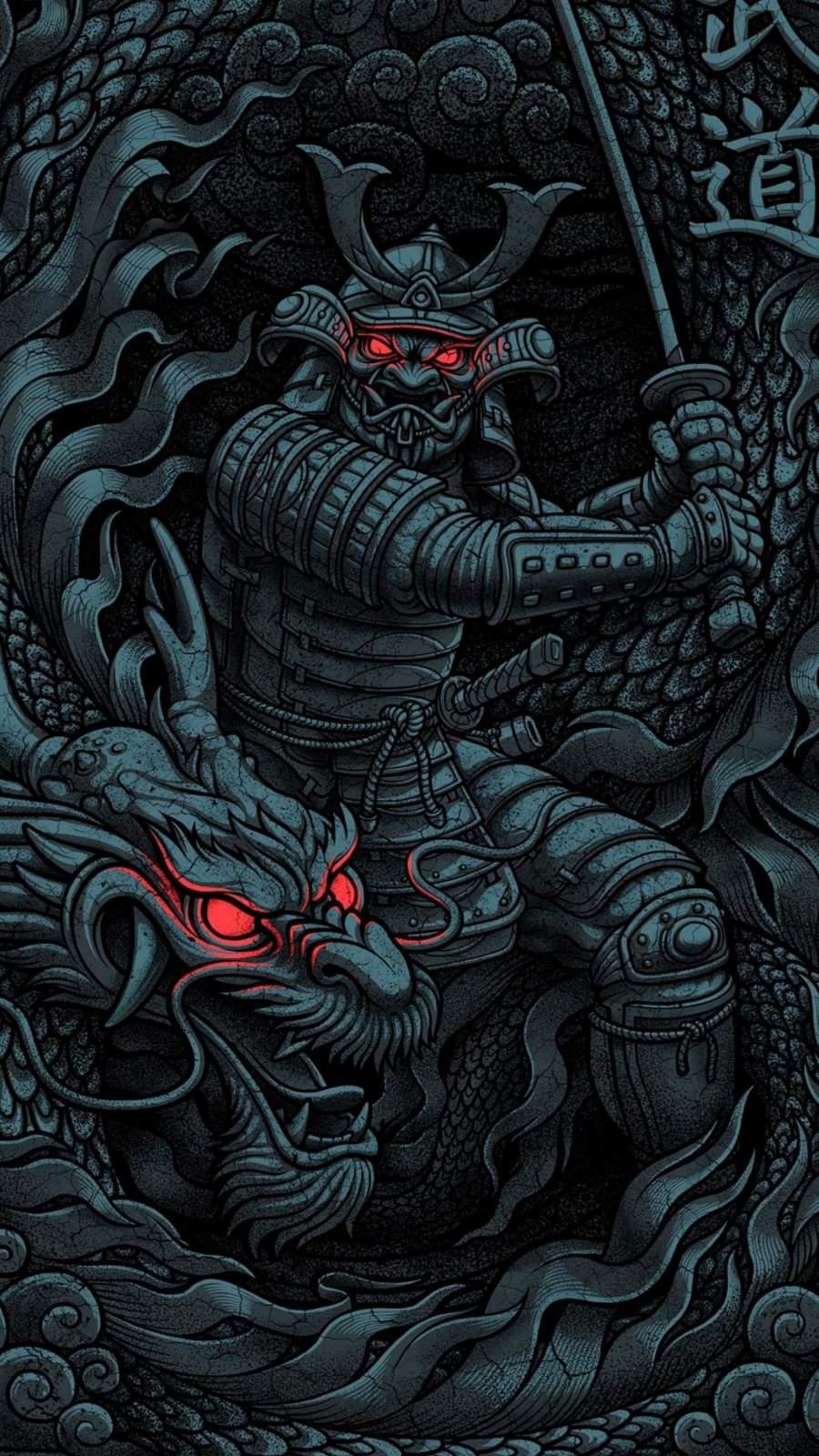Dragon Warrior iPhone Wallpaper