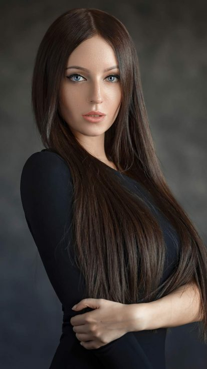 Evgeny Sibiraev Beautiful Girl iPhone Wallpaper