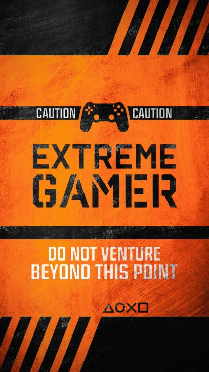 Extreme Gamer iPhone Wallpaper