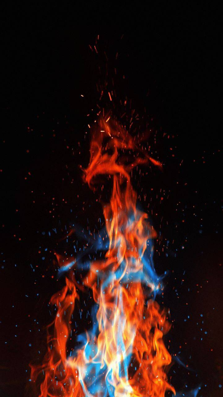 Fire Flames iPhone Wallpaper