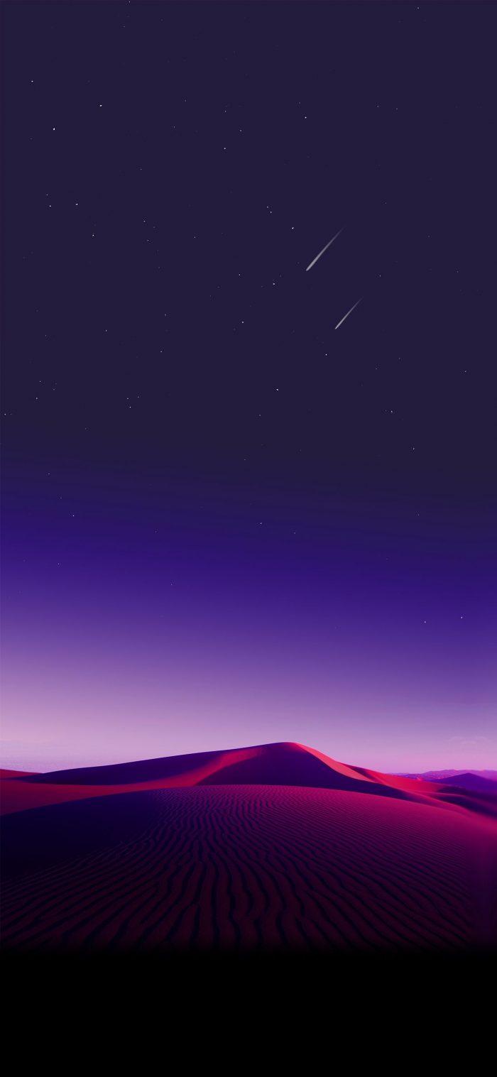 Gradient Sky Desert iPhone Wallpaper scaled - iPhone ...