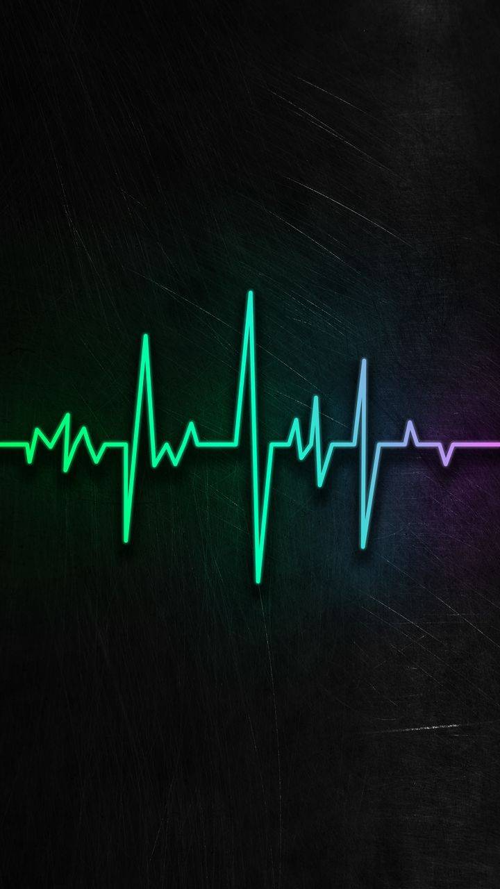 Heart Rate Monitor iPhone Wallpaper