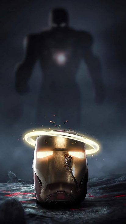 Iron Man Art iPhone Wallpaper