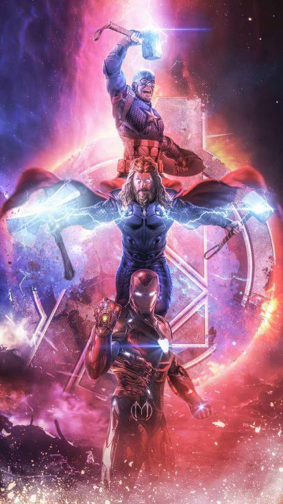 Iron Man Infinity Gauntlet Stones Artwork