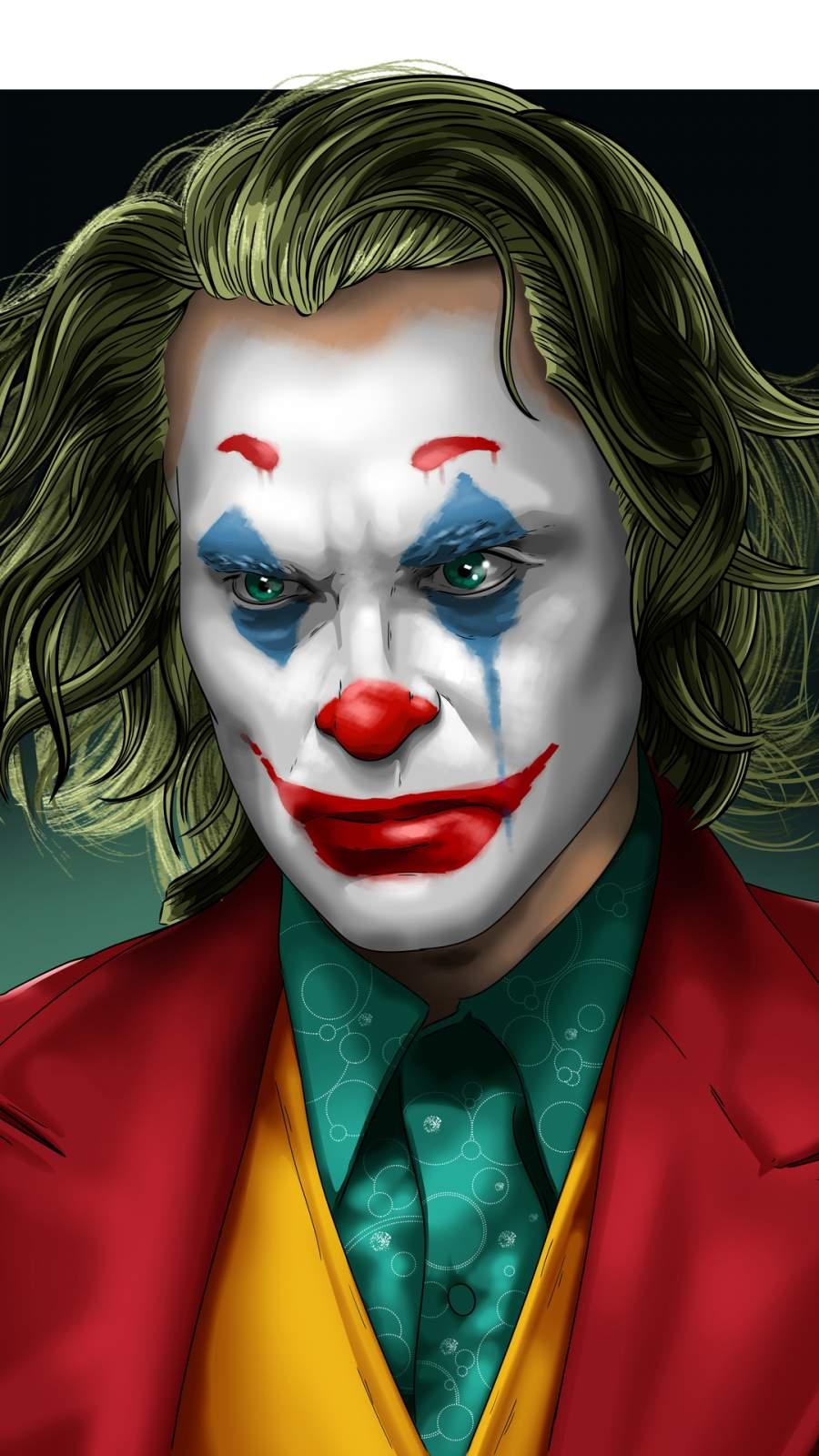 Joker Artwork New iPhone Wallpaper