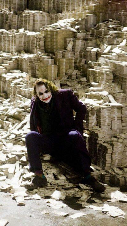 Joker its Not About Money its About Sending a Message