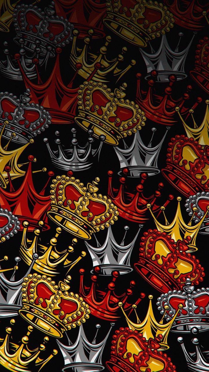 King Crowns iPhone Wallpaper
