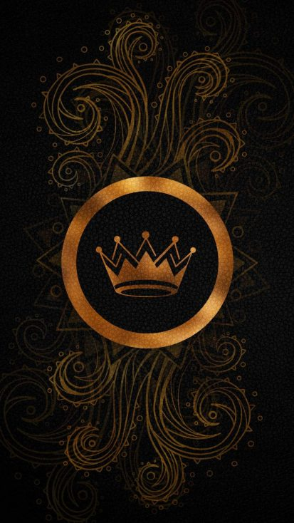 King Leather Texture iPhone Wallpaper