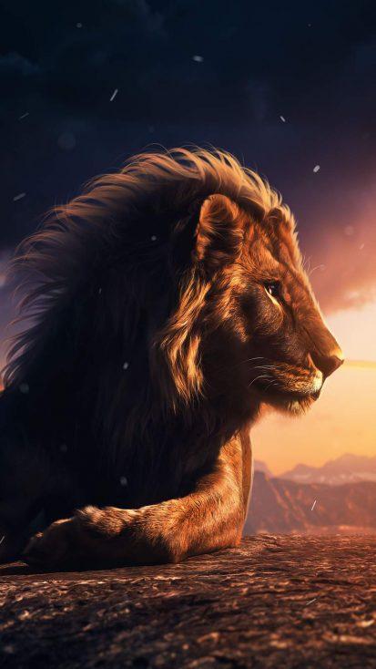 Lion King 4K iPhone Wallpaper