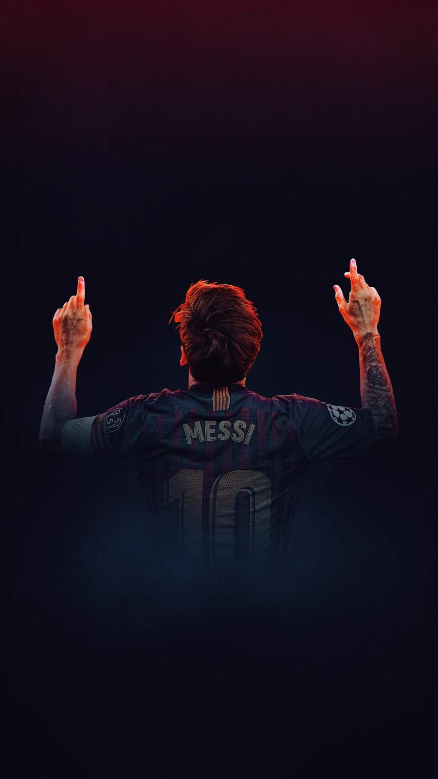 Messi Goal iPhone Wallpaper
