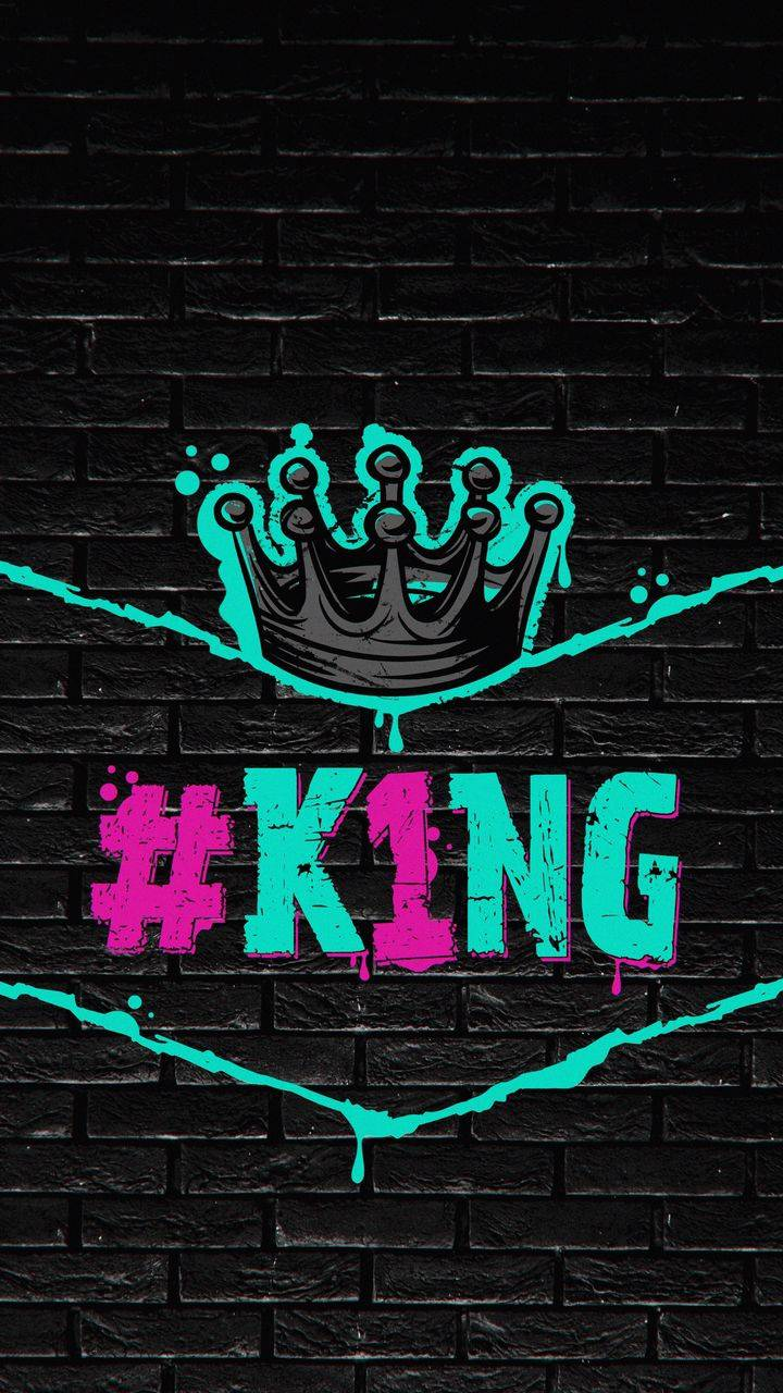 Number One King iPhone Wallpaper
