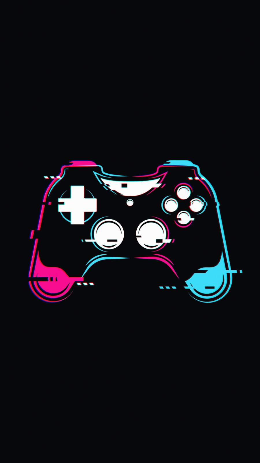 PS5 Controller iPhone Wallpaper
