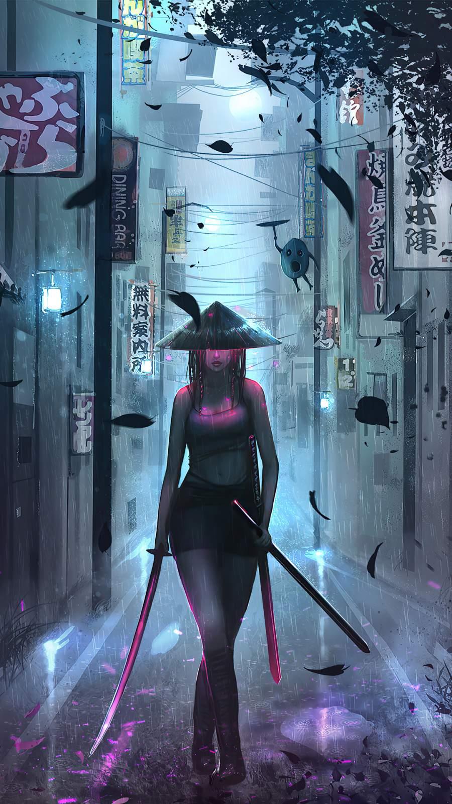 Samurai Girl
