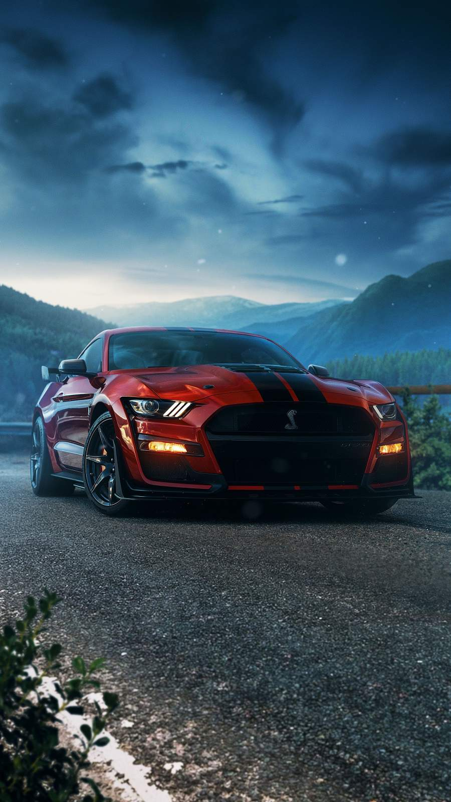 Shelby Mustang iPhone Wallpaper