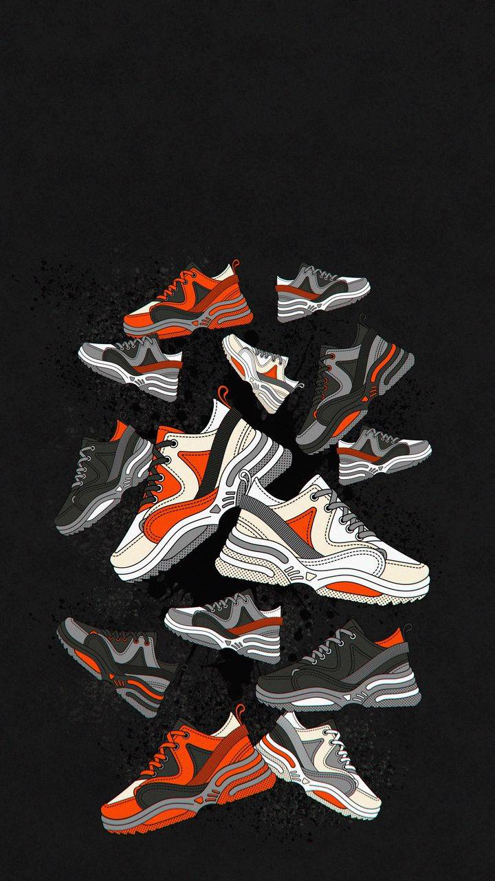 Sneakers iPhone Wallpaper