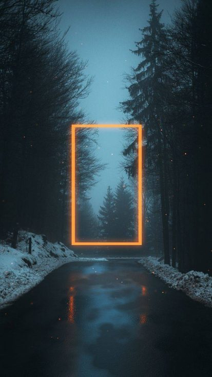 Snow Neon Light