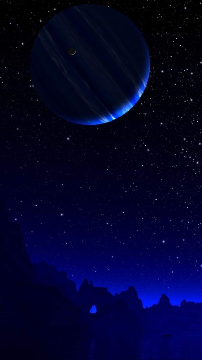 Space Night iPhone Wallpaper