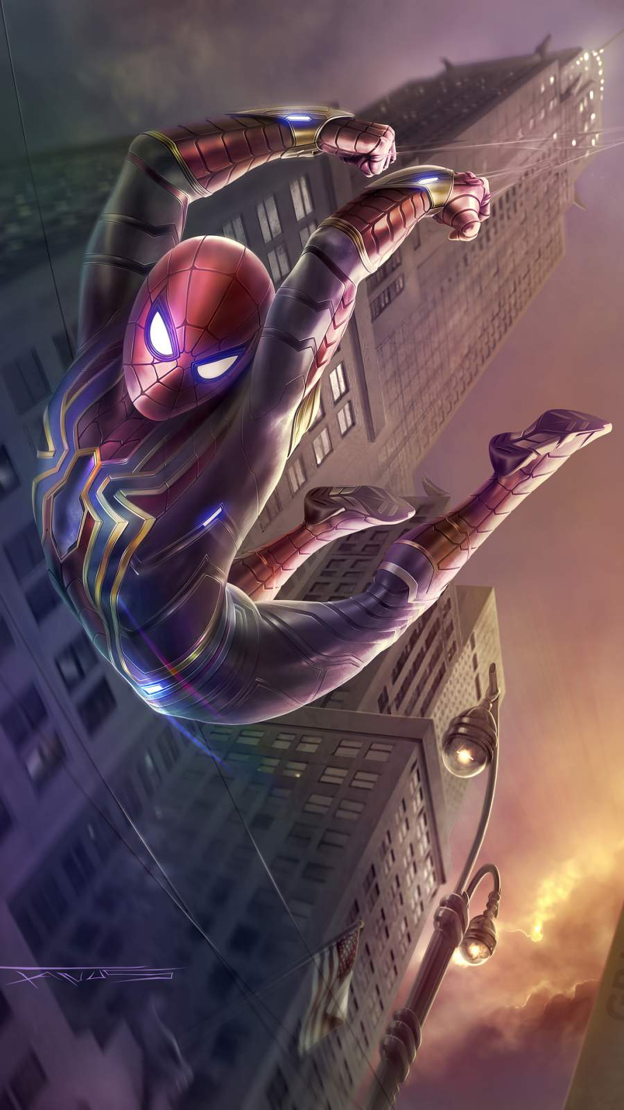 Spider Man Stark Tower