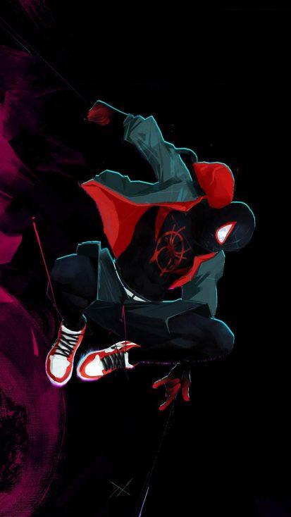 Spiderman Miles SuperHero