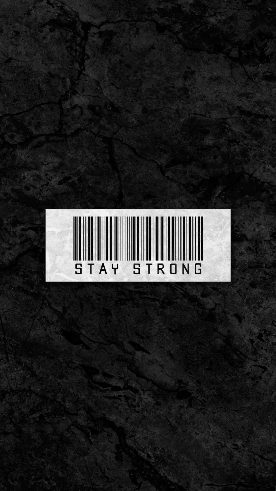 Stay Strong iPhone Wallpaper