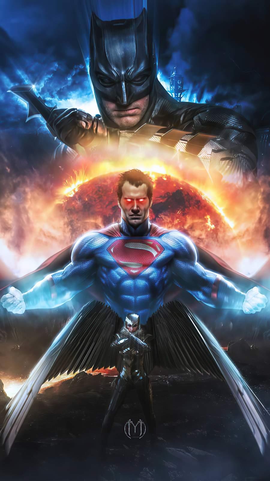 Superman vs DC Superheroes