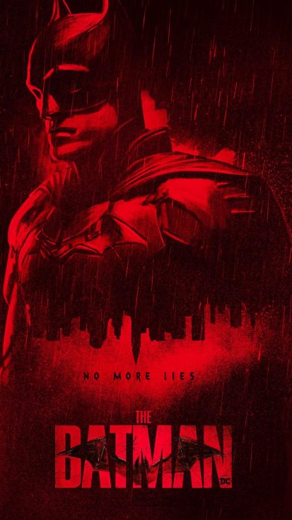 The Batman 2021 Official Poster iPhone Wallpaper