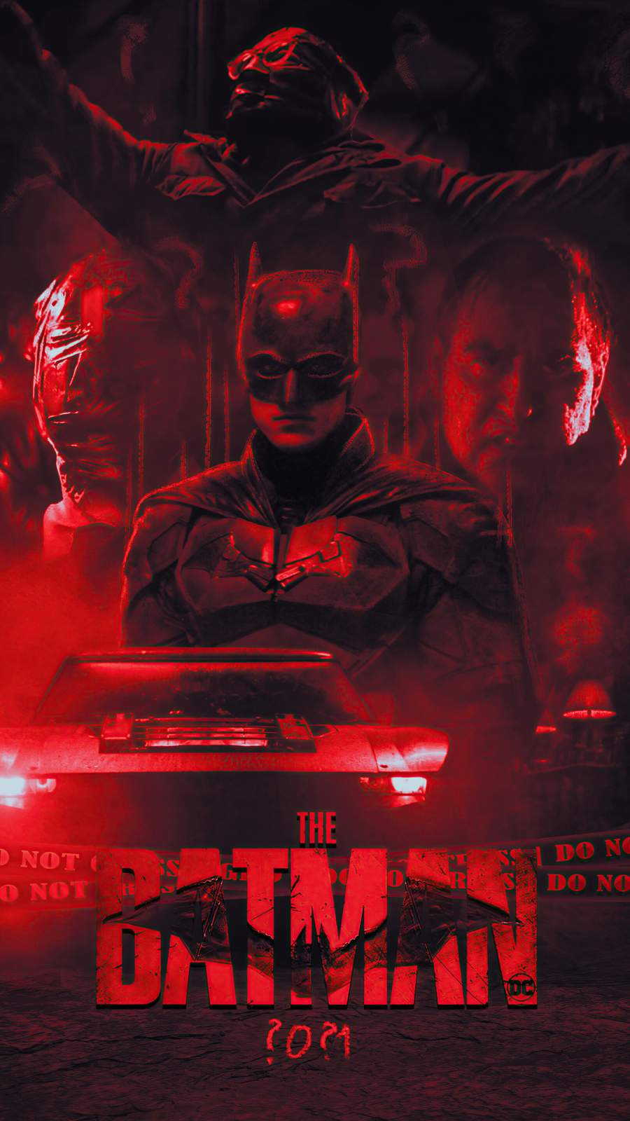 The Batman Official Poster 2021 Wallpaper