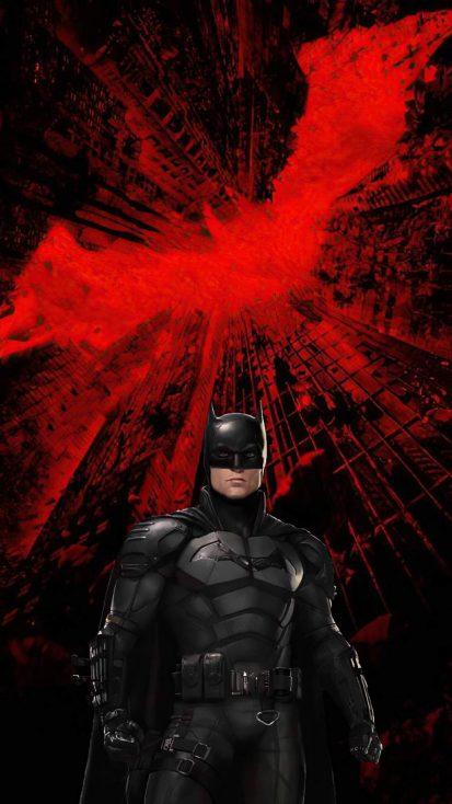 The Batman aka Bruce Wayne iPhone Wallpaper