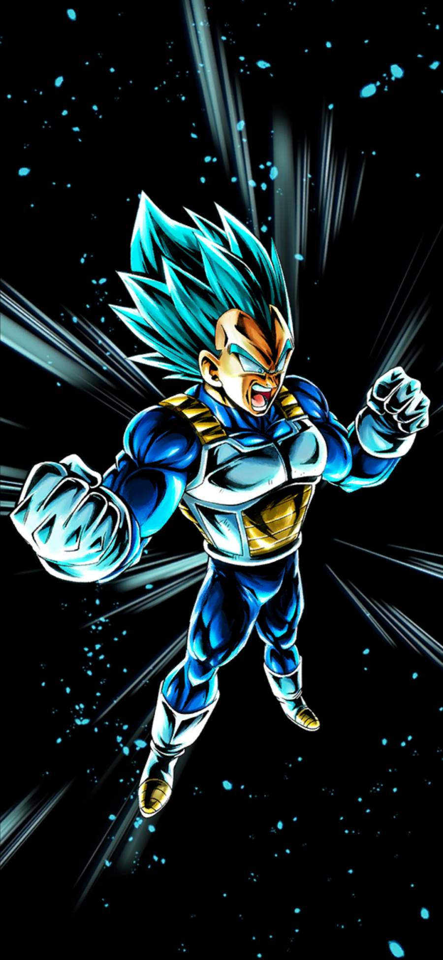 Vegeta Power iPhone Wallpaper