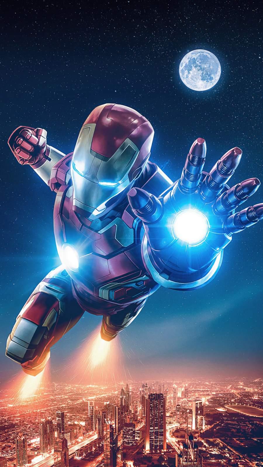 4K Iron Man Art