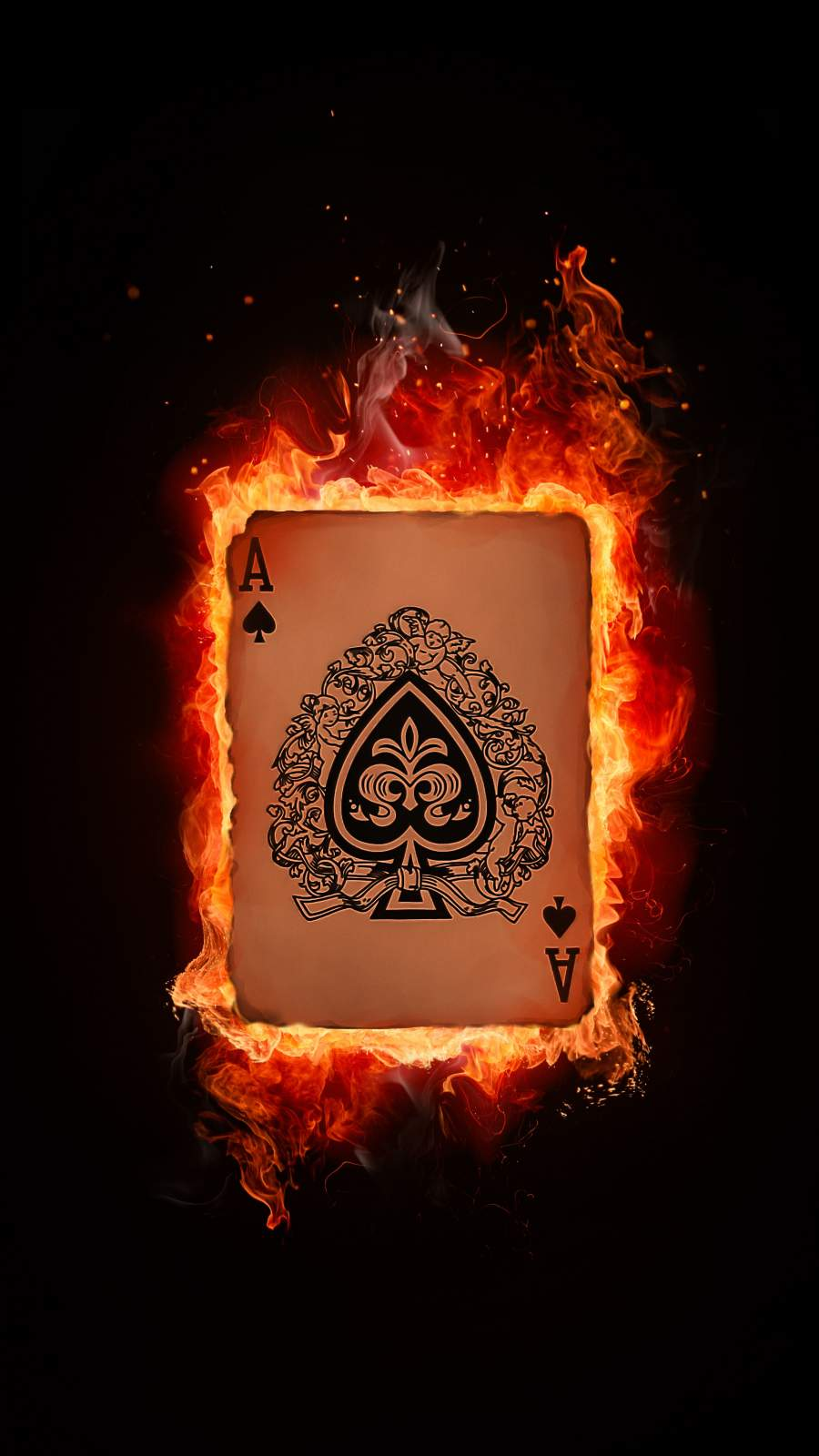 Ace Card iPhone Wallpaper