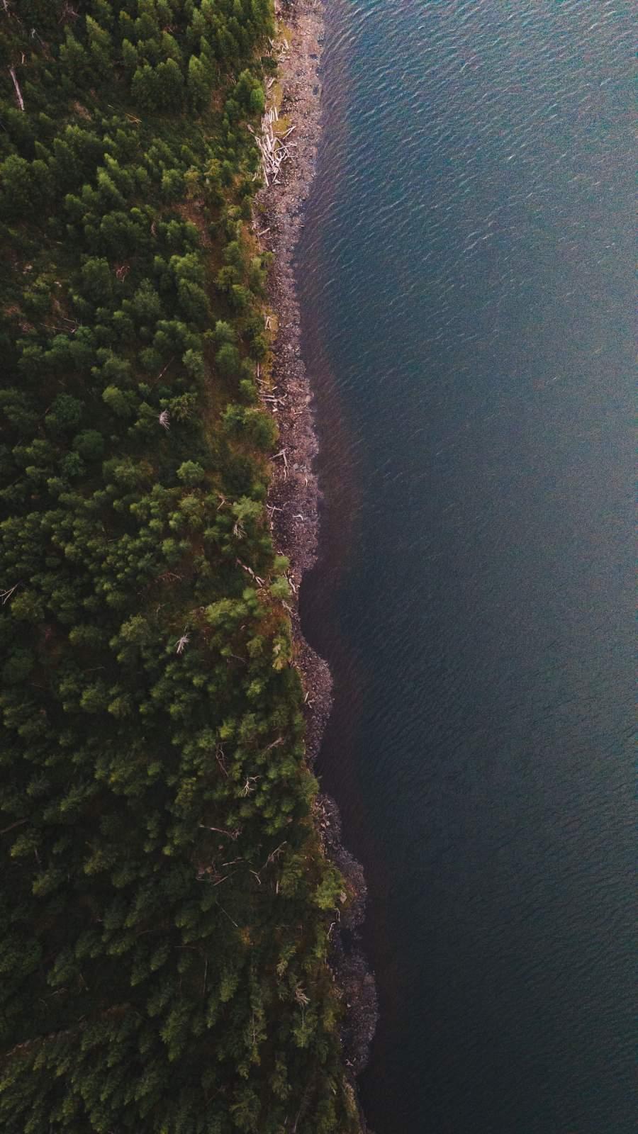 Aerial View Nature View Ocean Land